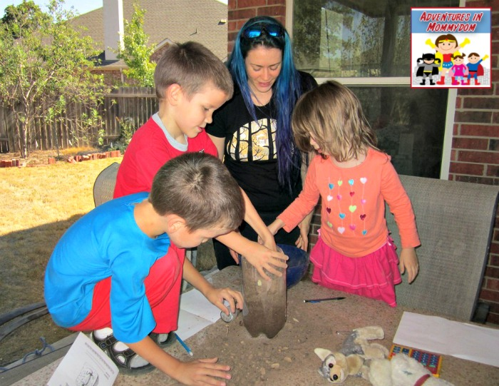 archaeology dig lesson