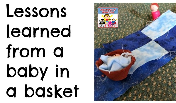 baby Moses activities for Sunday School