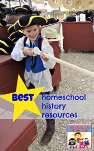 Where to find homeschool history resources