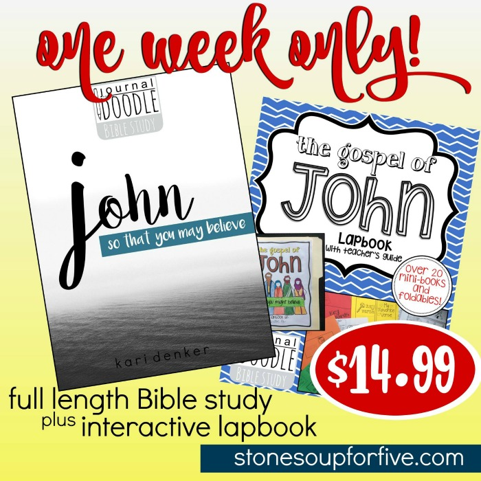 bible study for creative people launch week special
