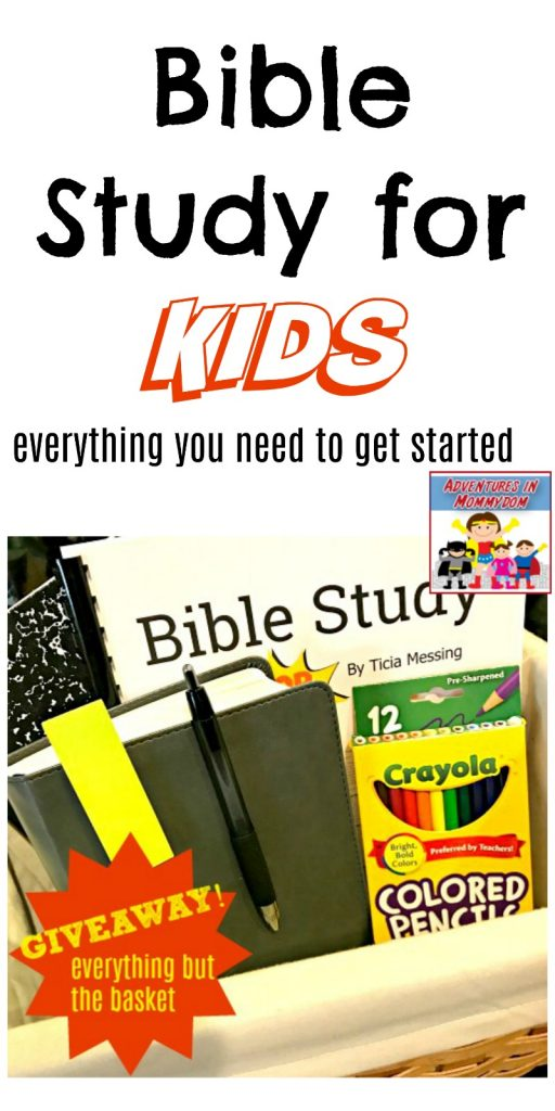 bible study for kids giveaway all you need to get started