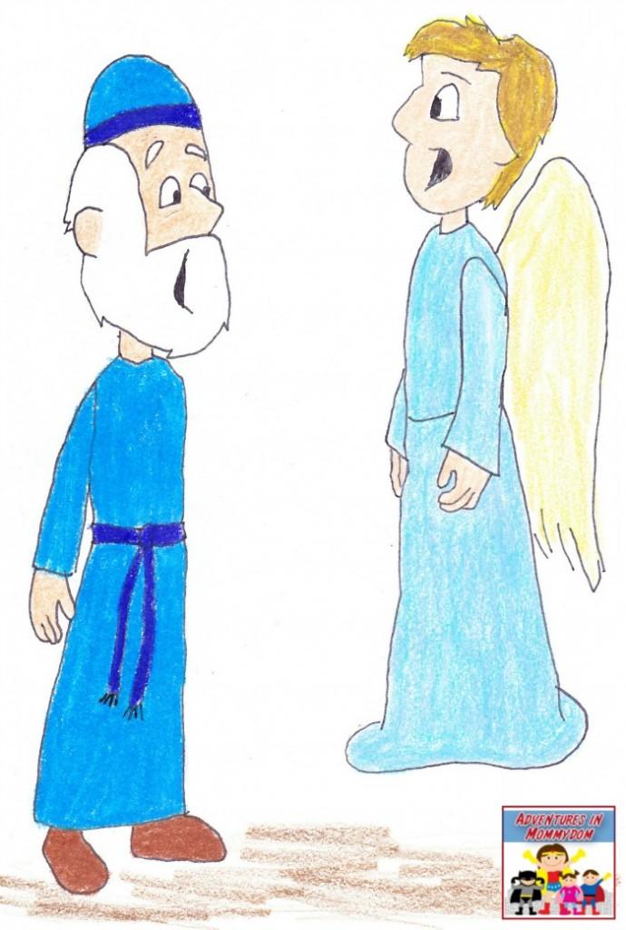 birth of John the Baptist lesson Zechariah's reaction
