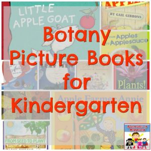 botany picture books for kindergarten