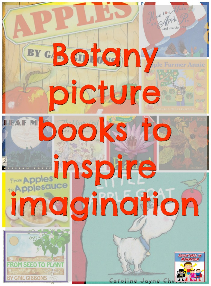 botany picture books