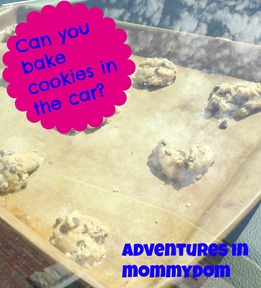 Science Sunday: Can you bake cookies in the car?