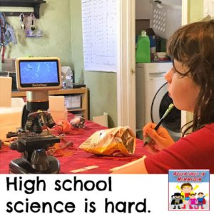 challenges of high school science