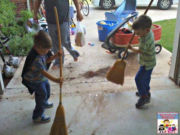 chores for preschool