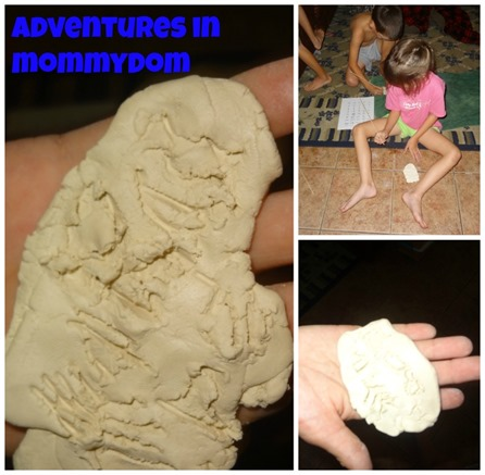 creating cuneiform tablets for Ancient Sumerian activities