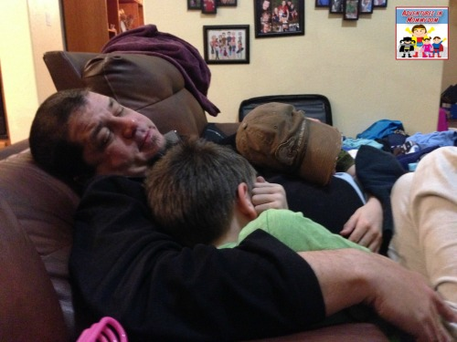 cuddling with kiddos is always a way to cheer me up, had to add that one in