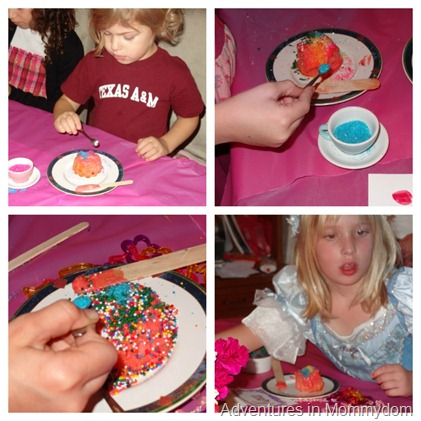 cupcake decorating for party activity