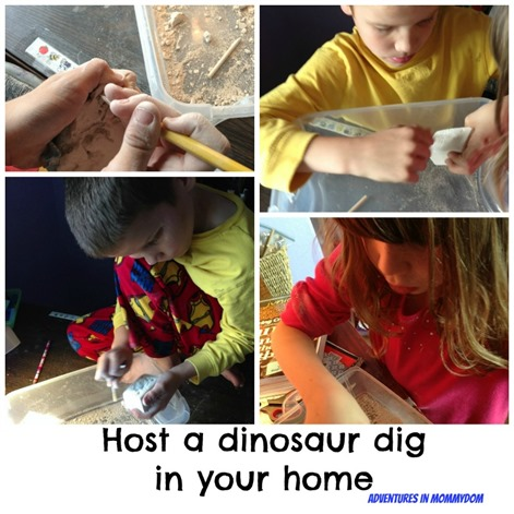 dinosaur dig in your home