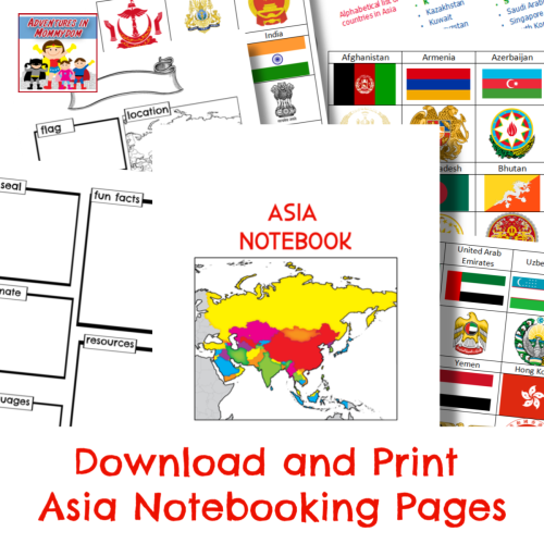 download and print asia notebooking pages
