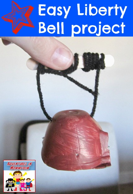 easy Liberty Bell craft