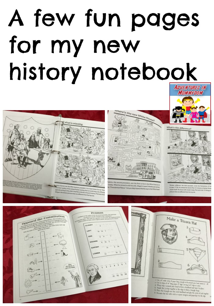easy history notebook