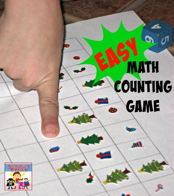 easy math counting game