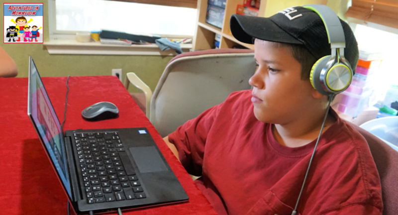 engaging online homeschool science