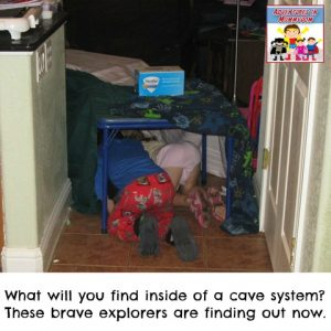 Explore a cave with your kids without leaving home