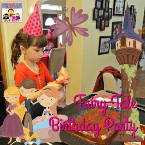 This is a can't miss fairy tale birthday party