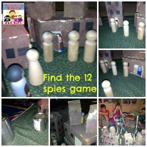 12 Spies go into Canaan activity