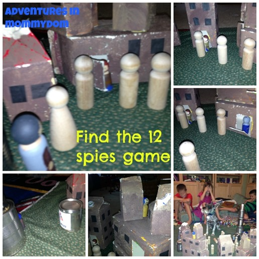find the 12 spies game