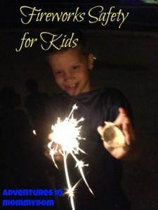 Fireworks Safety for Kids