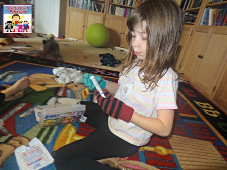 first aid to kids decide on bandages