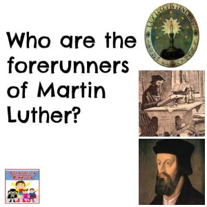 Forerunners to the Protestant Reformation