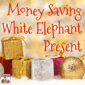fun money saving white elephant exchange