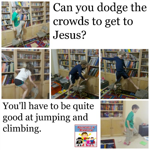 get to Jesus Bible game