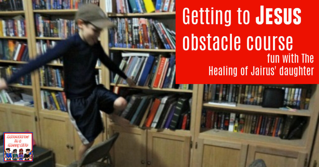 getting to Jesus obstacle course