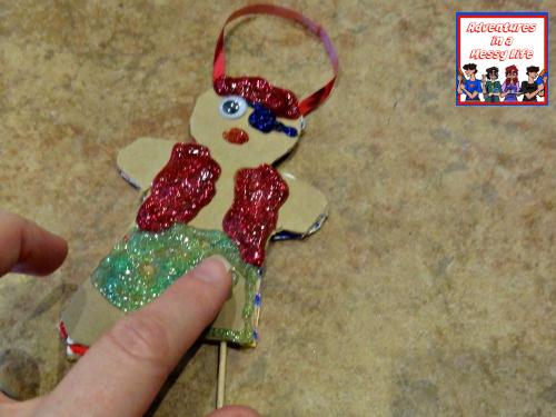 gingerbread pirate ornament final step