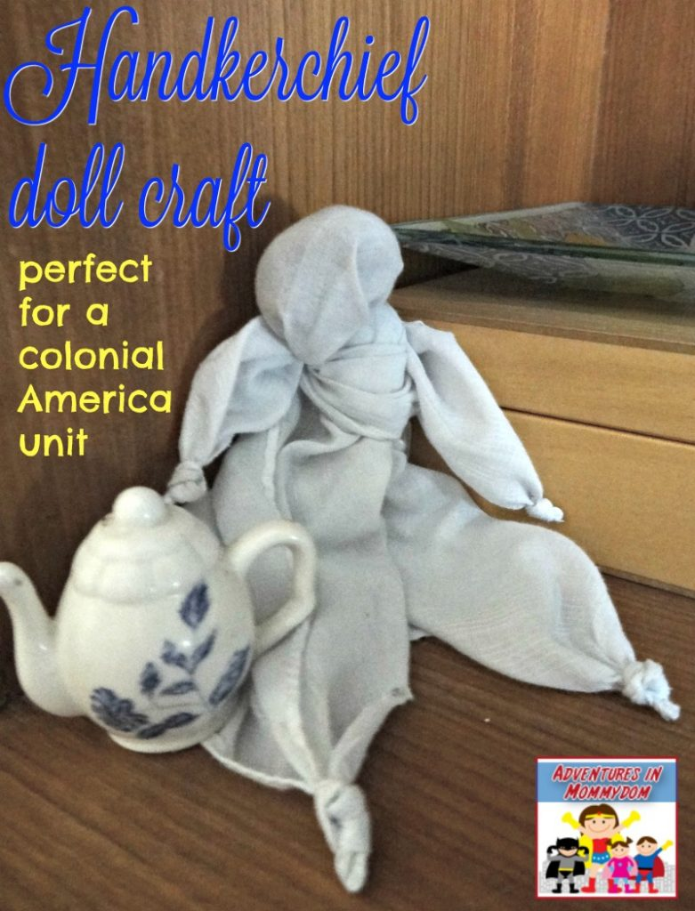 handkerchief doll craft for school