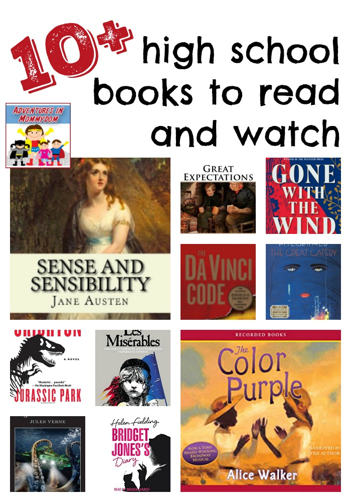 high school books to read and watch