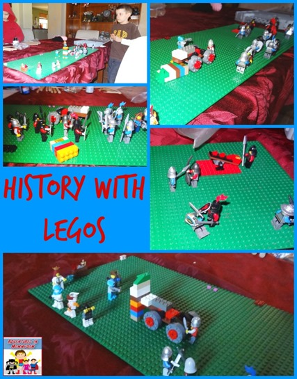 history with Legos