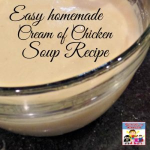 Skip the canned cream of chicken soup and try this easy homemade version
