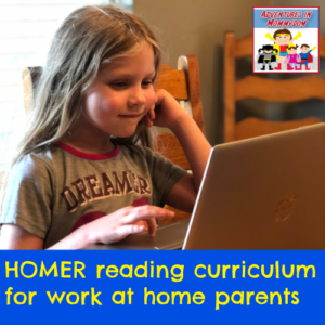 homer reading curriculum for working parents