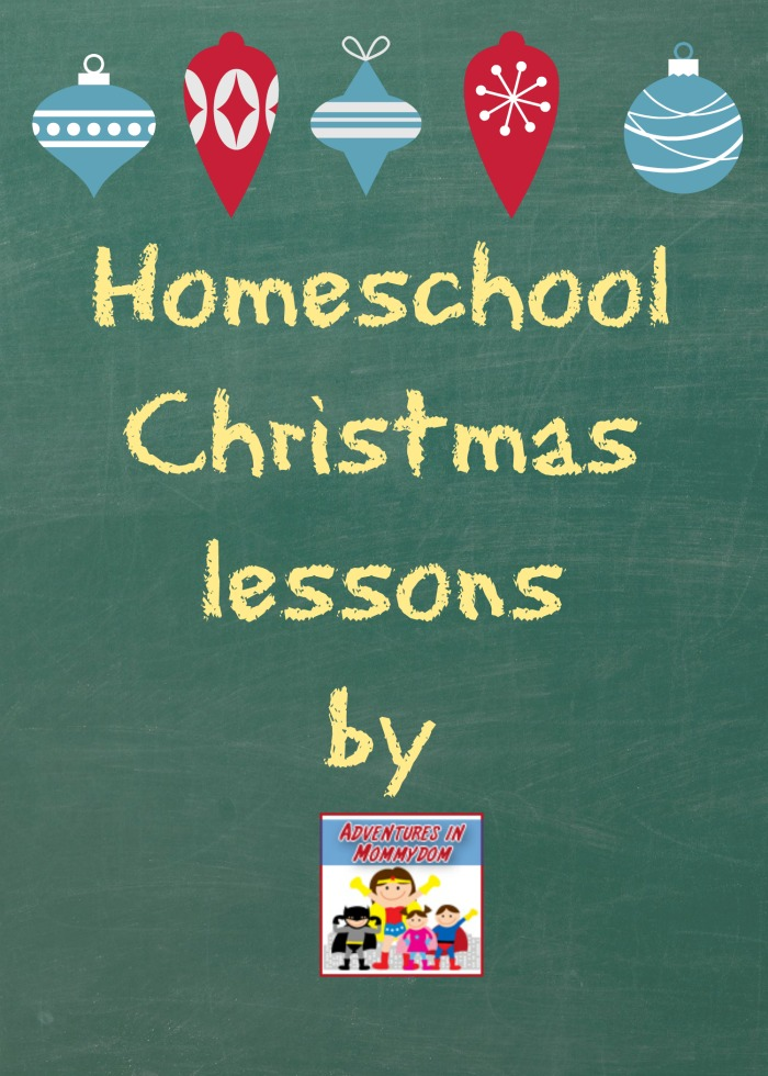 homeschool Christmas lessons
