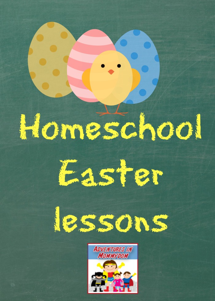 homeschool Easter lessons