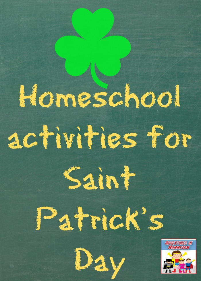 Saint Patrick's Day homeschool