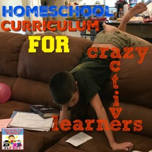 7th grade homeschool curriculum for crazy active learners UPDATED