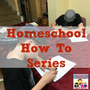 homeschool how to series