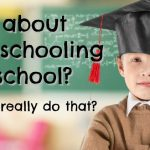 What about homeschooling high school? to answer the question I'm always asked