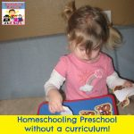 homeschooling preschool without a curriculum square