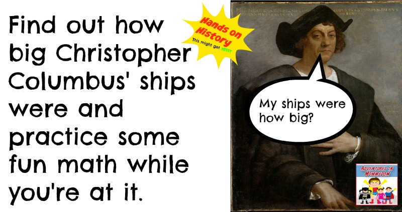 How big were Christopher Columbus' ships?
