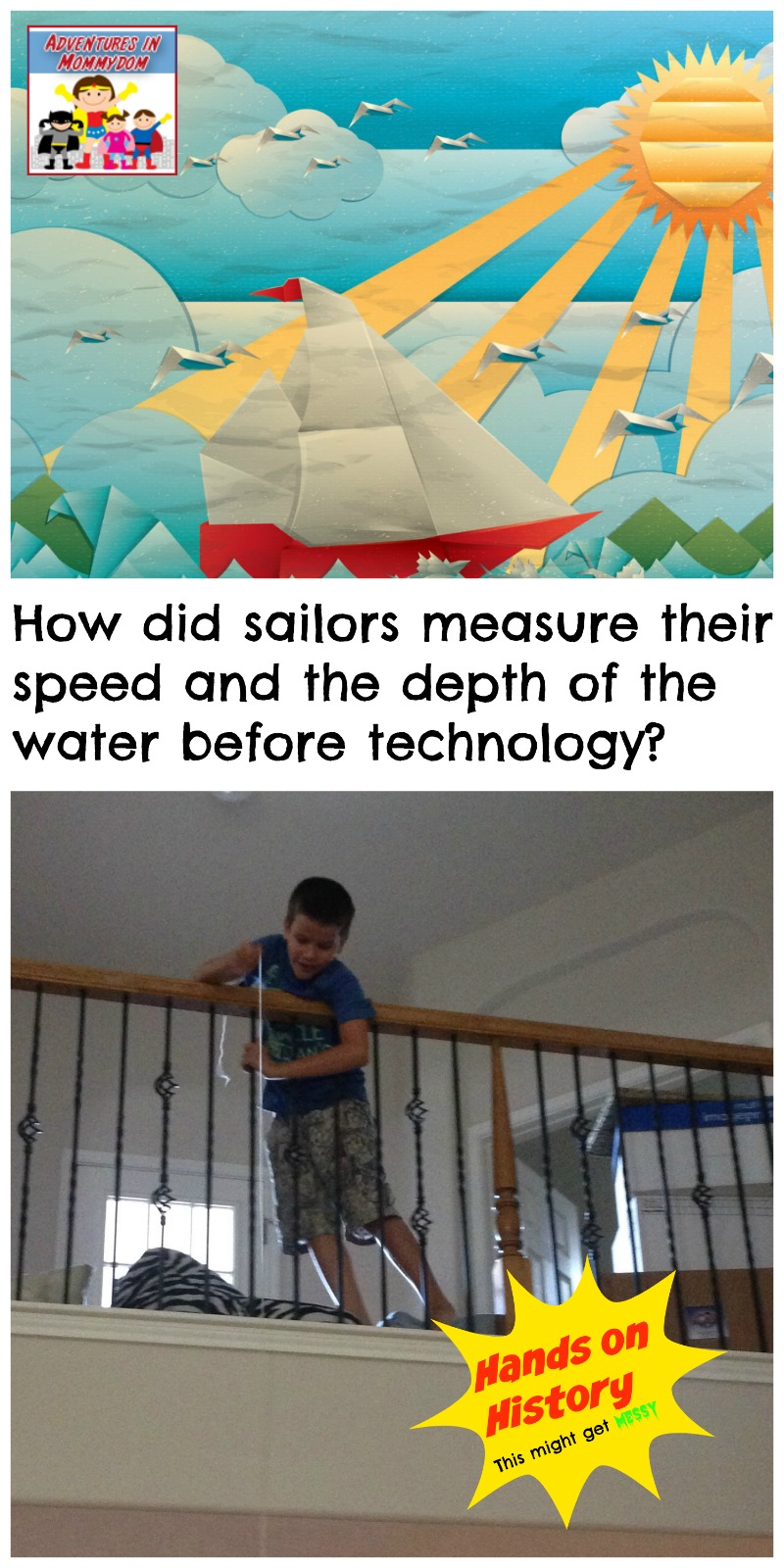 how did sailors measure their speed before technology