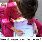 how do animals act in zoo animal observation form