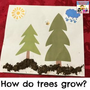 how do trees grow preschool printable