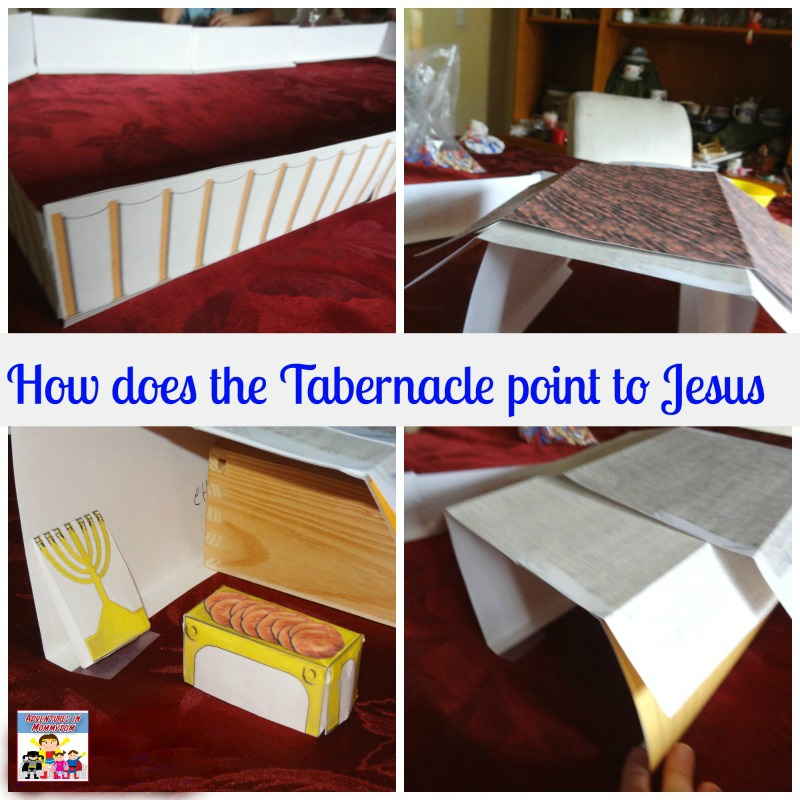 how does the tabernacle point to Jesus
