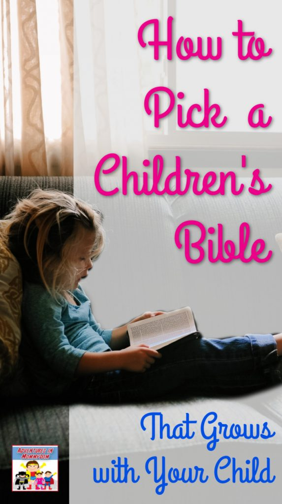 how to find a children's Bible
