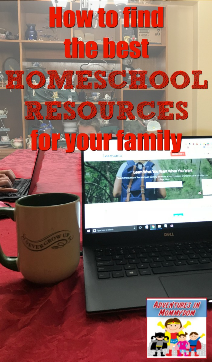 how to find the best homeschool resources for your family